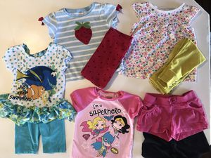 3T Girls Clothing Lot including Finding Nemo and Superhero's for Sale in Pueblo, CO