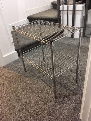 2 tier metal rack for Sale in Kirkland, WA