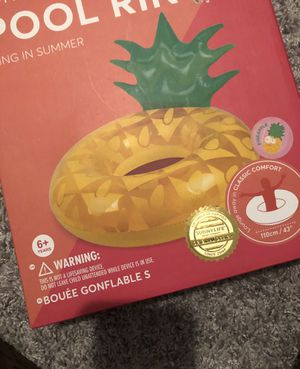 Pineapple ring float for Sale in Fort Myers, FL