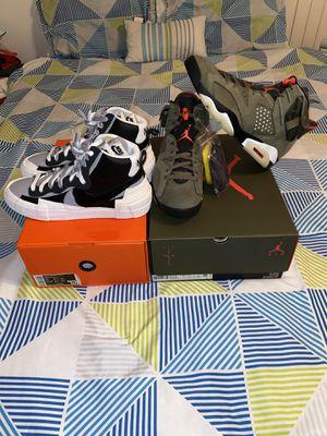 Nike Travis Scott x Air Jordan 6 Medium Olive Nike Sacai x Blazer Mid 'Black Grey' for Sale in Winter Haven, FL