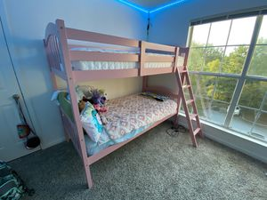 Pink Bunk bed for Sale in Greenville, SC