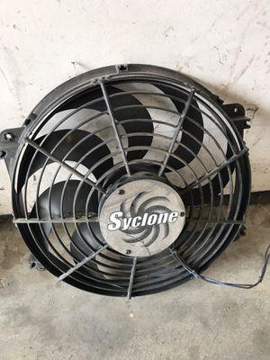"Flex-a-lite 398 Syclone Black 16"" S-Blade Reversible Electric Fan for Sale in Aurora, NE"