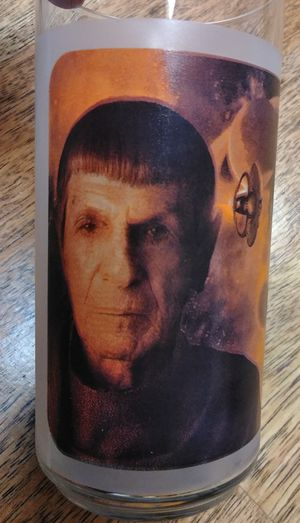 $7 OBO 2008 Spock Star Trek Collectible Glass Series Glass Tumbler for Sale in Nashville, TN