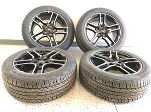 "18"" Ford black mustangs wheels for Sale in Sterling Heights, MI"