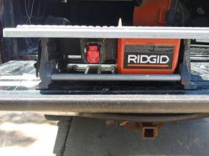 Ridgid Wet Saw for Sale in Dearborn Heights, MI