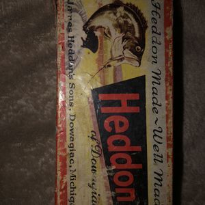 Antique Heddon Fishing Lure**Rare Color** for Sale in Mountain City, TN