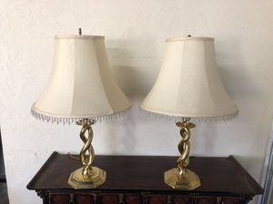 Antique lamps(2) for Sale in West Covina, CA