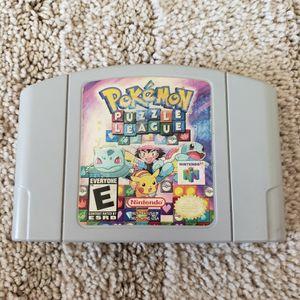 Pokemon Puzzle Nintendo 64 for Sale in Downey, CA