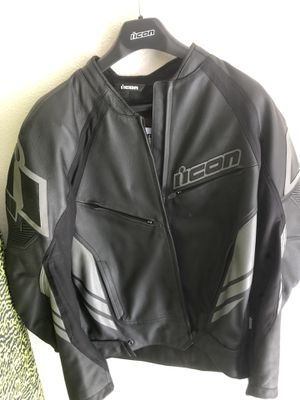 Icon motorcycle jacket for Sale in Mission Viejo, CA