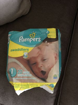 Pampers Size 1 for Sale in Virginia Beach, VA