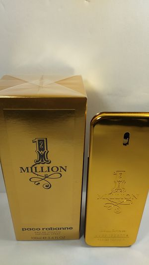 100% AUTHENTIC ONE MILLION BY PACO RABANNE FOR MEN 3.4OZ (100ML) for Sale in HALNDLE BCH, FL