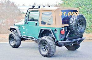 🔥🔑🔑$1000🔑🔑 For Sale URGENT 🔑🔑2000 Jeep Wrangler CLEAN TITLE🔑🔑 for Sale in Miami, FL