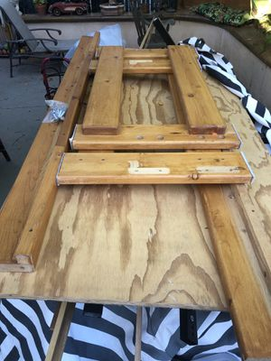 Solid oak twin bed frame FREE for Sale in Vista, CA