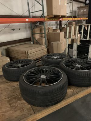 4 like new tire and rims , will fit on all C classes for Sale in North Charleston, SC