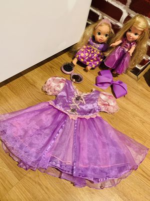 Rapunzel dress for Sale in Pasadena, TX
