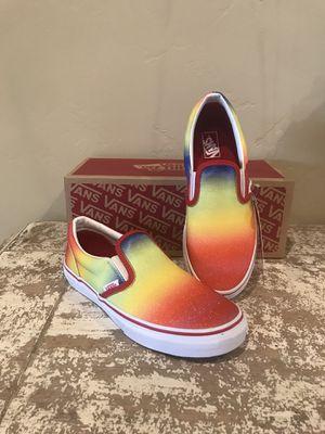 Vans Slip Ons Rainbow Glitter Shoes for Sale in Buckeye, AZ