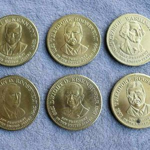 A set of 6 presidential medals for Sale in Lake Elsinore, CA