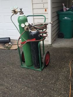 Victor combination cutting torch for Sale in Wenatchee,  WA