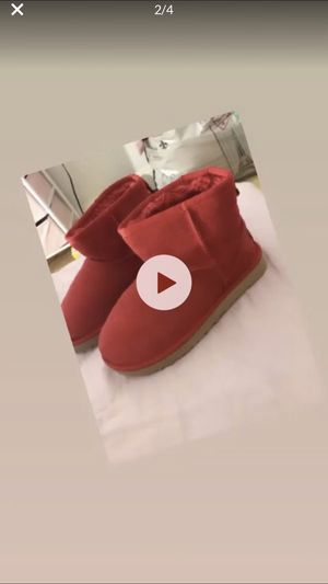 Red Ugg Boots for Sale in Oxon Hill, MD