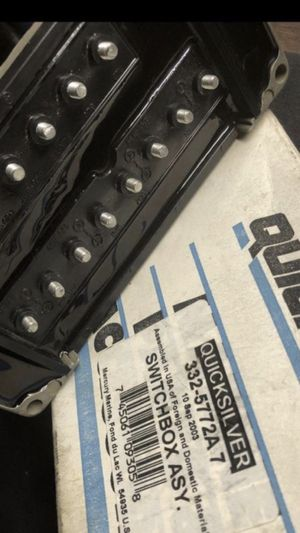 MERCURY 4cyl 2 stroke OUTBOARD MOTOR SWITCHBOX •NEW• for Sale in Vallejo, CA