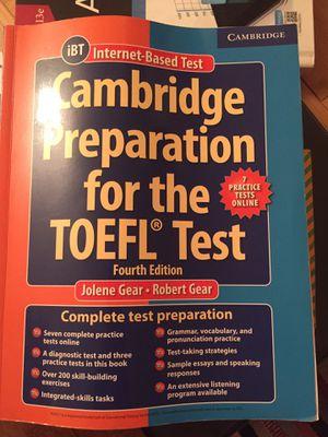 Toefl iBT, Test preparation book for Sale in Des Plaines, IL