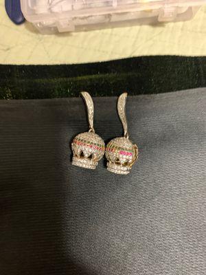 Nice diamond earrings for Sale in Glendale, AZ