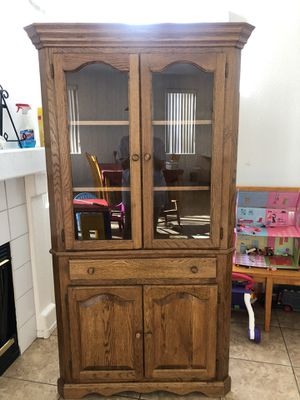 Antique, large corner cabinet for Sale in Henderson, NV