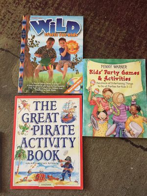 3 fun activity books for Sale in Cartersville, VA
