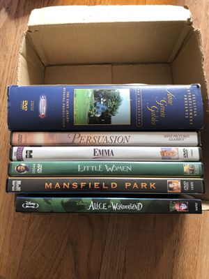 6 DVDs based on Good Books for Sale in Woodinville, WA