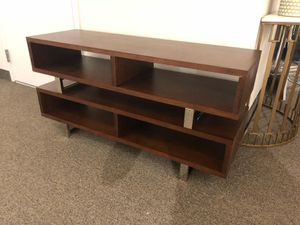"""47"""" amble tv stand walnut for Sale in Rockville, MD"""