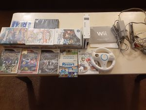 Wii plus games and accessories for Sale in Las Vegas, NV