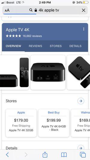 4K AppleTv for Sale in Winter Haven, FL