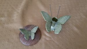 Brass butterfly candle holder for Sale in Saint Charles, MO