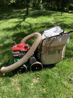 "Billy Goat 27"" self propelled leaf vacuum for Sale in Stafford, VA"