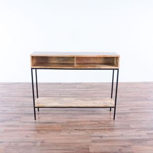 Wood and Metal Console Table (1031426) for Sale in South San Francisco, CA