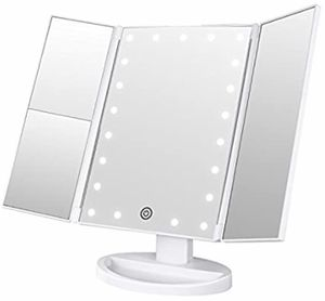 NEW! Trifold Magnifying Mirror w Natural Led Lights for Sale in Hawthorne, CA