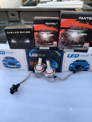 Ford F-150 pk 04-15 new led headlights bulbs for Sale in Hayward, CA
