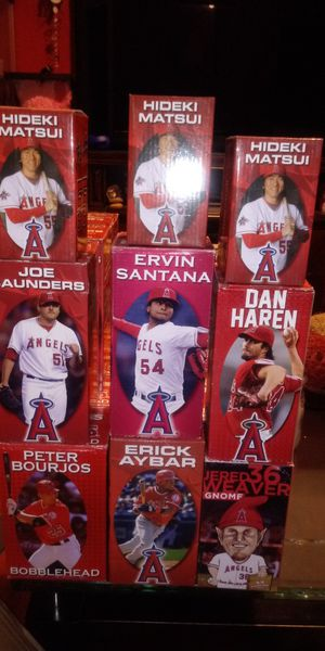 Angels Bobblehead $10 each for Sale in Los Angeles, CA