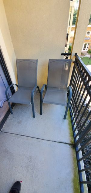 2 outdoor chairs for Sale in Atlanta, GA