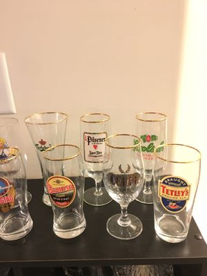 Beer glass collection for Sale in Zebulon, NC