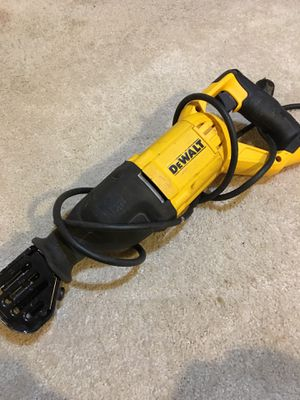 DEWALT Corded Reciprocating Saw 12 Amp for Sale in Germantown, MD