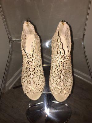 """Zigi Soho- """"Darlah"""" cinnamon sparkle ankle boot peep-toe! for Sale in Atlanta, GA"""