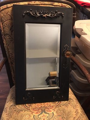 Wall mirror with key holders for Sale in Miami, FL