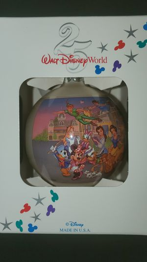 Limited Edition 25 year anniversary Disney ornament for Sale in Evesham Township, NJ