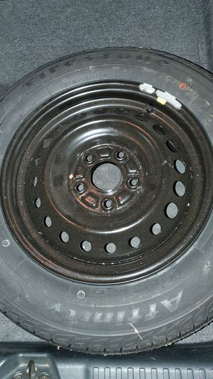 Wheel & tire P195/65R15 Brand new spare tire by Firestone for Sale in Westminster, CA