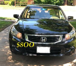 ✅✅👉💲8OO URGENT I sell my family car 🔥🔥2OO9 Honda Accord Sedan V6 EX-L power start Runs and drives very smooth.🟢🟢....... for Sale in Tacoma, WA