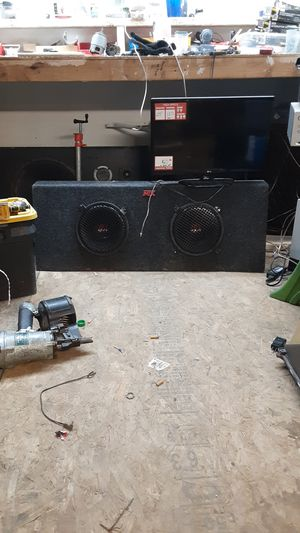 MTX speak box10in thunders sound great for Sale in Tulsa, OK