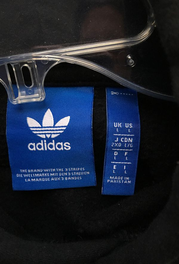 Adidas hoodie heavy size large