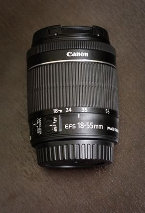 18-55 mm canon lens for Sale in Fresno, CA