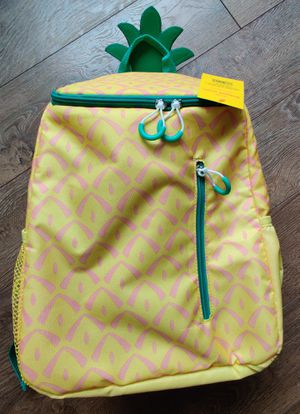 SUN SQUAD 20 CAN BACKPACK PINEAPPLE COOLER INSULATED LINER for Sale in Worth, IL